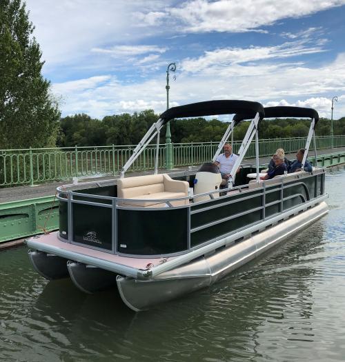 Nouveauté été 2020 : Location de bateaux électriques sans permis